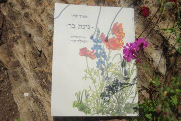 גינת בר, הספר ותערוכת איורים